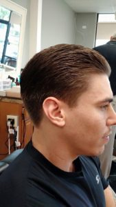 Jimmy's Barber & Style young man hairstyle