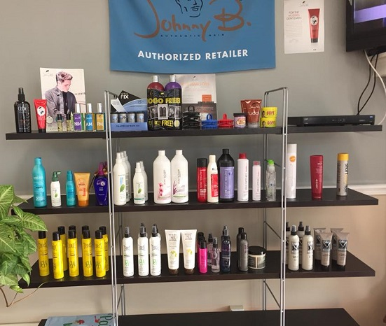 Jimmy's Barber & Style professional hair care products